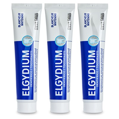 Elgydium Blancheur Dentifrice Lot 3 x 75ml